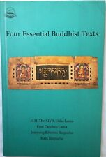 Four Essential Buddhist Texts by HHDL 14th Dalai Lama & First Panchen Lama