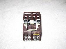 Wadsworth Breaker 4 Pole Twin 30 / 15 Amp Quad B3015-2