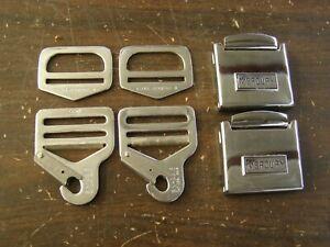 NOS OEM Ford 1963 1964 Mercury Accessory Belt Buckles Marauder ParkLane Monterey