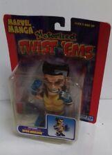 X-MEN - Marvel Manga Motorized Twist 'Ems Claw Attack Wolverine 2004 Toy Biz Toy