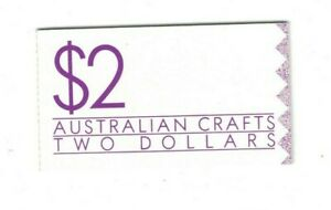 MAD62) Australia 1988 $2 Australian Crafts Booklet CTO