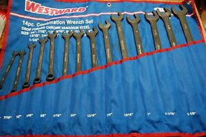 """WestWard 14 Pc. Combination Wrench Set 3/8"""" to 1-1/4"""""""