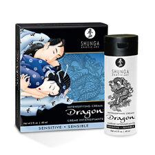 SHUNGA DRAGON INTENSIFYING CREAM 60ml for Men Erection Libido Natural Sensitive
