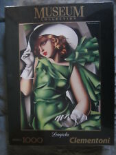 PUZZLE CLEMENTONI 1000 MUSEUM YOUNG LADY WITH GLOVES DE LEMPICKA