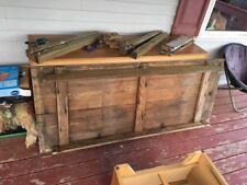 Authentic Antique Primitive Pine Plank Farm House Table 1800s 1900s Work Bench Z
