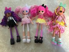 Lalaloopsy Girls Doll Lot Cloudy Stormy Waffle Cone Crazy HaIr Sugar Crumbs 9""