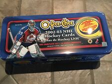OPC O-Pee-Chee 2002-03 Complete Set (330)  including Tin Box