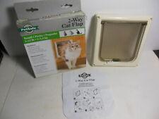 PetSafe Small Pet 2-Way Indoor Flap Door Interior Use Dog Cat Up to 12lbs Magnet