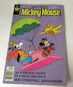 Walt Disney's Mickey Mouse # 205  Whitman Publishing 1980 Goofy