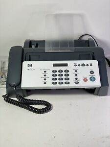 HP 640 Fax Plain Paper Inkjet Quality Fax Copy Phone Machine (Needs Ink HP 701)