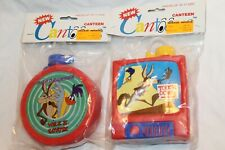 Wile E Coyote/Road Runner Roadrunner Cantoons Canteen Red Looney Tunes 1992