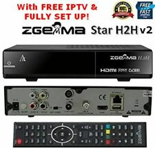 ZGEMMA H.2H v2 COMBO HD FREESAT FREEVIEW SAORVIEW RECEIVER SET UP WITH FREE IPTV