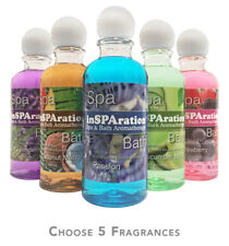 5 pack Insparation Spa Hot Tub Bath Liquid Aromatherapy 9oz - PICK 5 FRAGRANCES