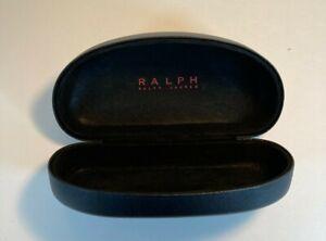 Polo Ralph Lauren Black Hard Clamshell Sunglasses/Eyeglass Case Very Good