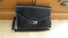 583ff35d23 sac a main noir aspect croco DAVID JONES