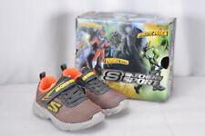 Toddler Boy's Skechers Sport Hook & Loop Sneakers Orange & Charcoal