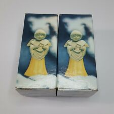 Vintage Avon Angel Song with Lyre Charisma 1 oz Set of 2