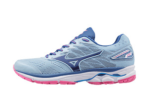Mizuno Wave Rider 20 Womens Running Shoe (B) (27)