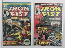 Iron Fist 1 2 3 4 5 6 7 Complete Comic Lot Run Set Defenders Marvel Collection