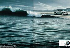 Publicité Advertising 2001 (2 pages) Nouvelle BMW 320d