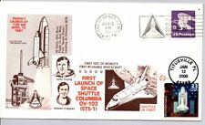 #3190a CELEBRATE THE CENTURY SPACE SHUTTLE FDC 1/12/00, STS-1 4/12/81 JOHN YOUNG