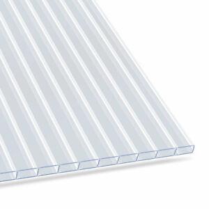 Hohlkammerplatte 4,5 mm - Stegplatten Doppelstegplatten Polycarbonat Gewächshaus