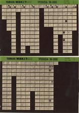 YAMAHA YP 250 _ Service Manual _ Microfich _ microfilm _ Fich