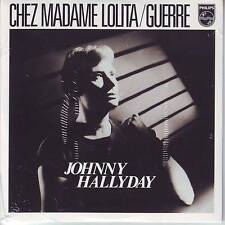 CD 2 titres JOHNNY HALLYDAY *** CHEZ MADAME LOLITA ** GUERRE   n°170