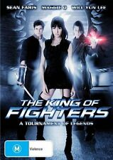 King Of Fighters (DVD, 2010) VGC Pre-owned (D86)