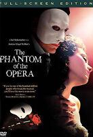 The Phantom of the Opera DVD FS NEW Sealed Halloween Spooky Classic Musical Fun!
