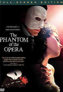 NEW DVD: The Phantom of the Opera (Full Screen Edition)