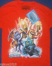 Skylanders Spyro's Adventure Short Sleeve T-Shirt Size Large 14-16 New