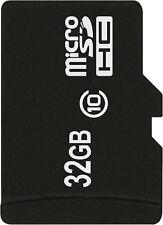 32 GB MicroSD MicroSDHC Class10 Speicherkarte für HTC Wildfire Handy Smartphone