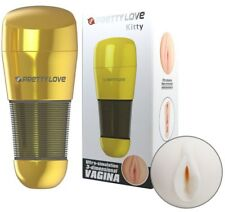 Masturbateur Pretty Love Kitty Gold Vagin - sextoy