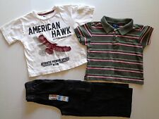 Lot of 3 Baby Boy pants size 4 T 4T clothes boys clothes Jeans pants T-shirt top