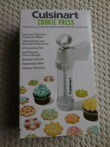 Cuisinart  25-Piece  Cookie  Press  AND  Frosting Set PLUS Cupcake Decorator