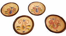 Vicki Carroll Studio Art Pottery Small Dipping Bowls Set of 4