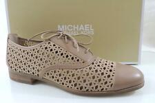 Women's Shoes MICHAEL Michael Kors SUNNY LACE UP Oxford Leather DK Khaki Size 10