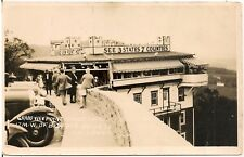 Grand View Point Lookout Hotel, Lincoln Highway, West of Bedford PA RP Postcard