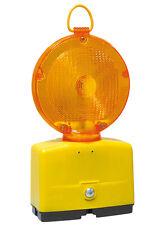 Baustellenleuchte / Baustellenlampe Nitra-LED gelb / rot