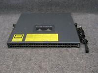 Cisco Catalyst 4948 WS-C4948-E V03 48-Port Gigabit Ethernet Switch