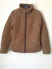 Next Women`s Ladies Brown Quilted Jackets Size 8