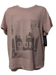 Genuine TRUE RELIGION Mens Pink Short Sleeve T-Shirt XL  Cotton BNWT