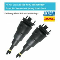Pair Front Left and Right Air Suspension Strut Fit Lexus LS460 L460 4801050361