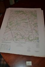 1940's Army topographic map Hereford Maryland -Sheet 5662 III SW