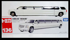 TOMICA #136 Cadillac Escalade 1/79 TOMY  Diecast Car Long White