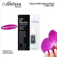 COLLA PER CIGLIA FINTE 7G MELISSA PROFESSIONALE TRASPARENTE IMPERMEABILE
