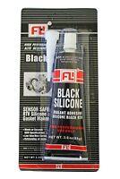 BLACK  RTV Silicone Gasket Hi-Temp Sealant Maker 3.0 OZ. ( 85g ) Tube