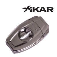 NEW Xikar - VX2 Gunmetal  -  V Cut Cigar Cutter