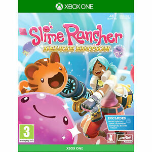 Slime Rancher XBOX ONE Deluxe Edition inc extra DLC New and Sealed